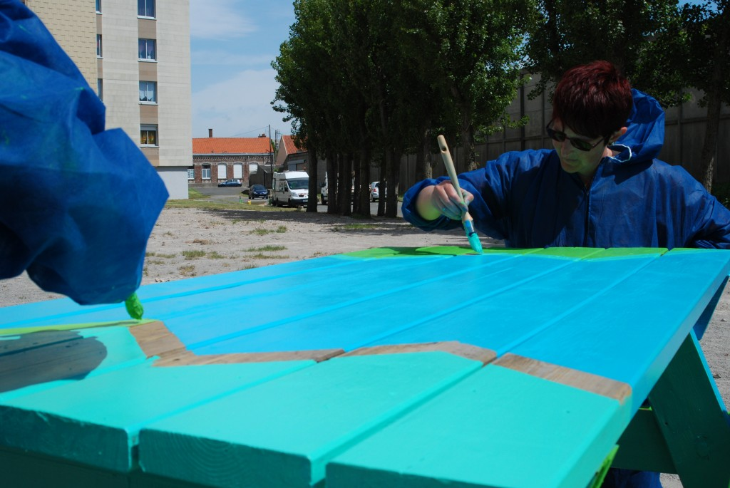 calais table peinture