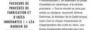 Design de partage, Le Monde